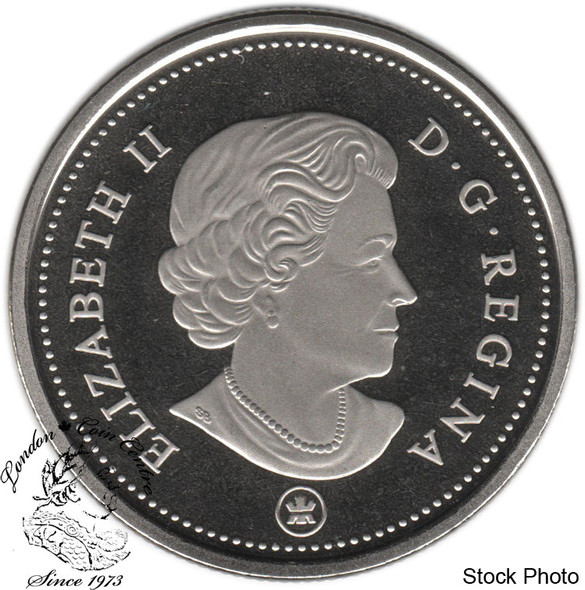 Canada: 2014 50 Cent Nickel Proof