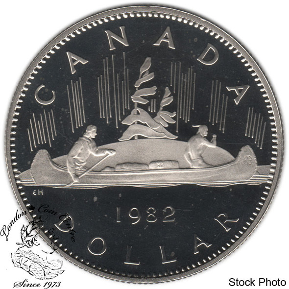Canada: 1982 $1 Proof
