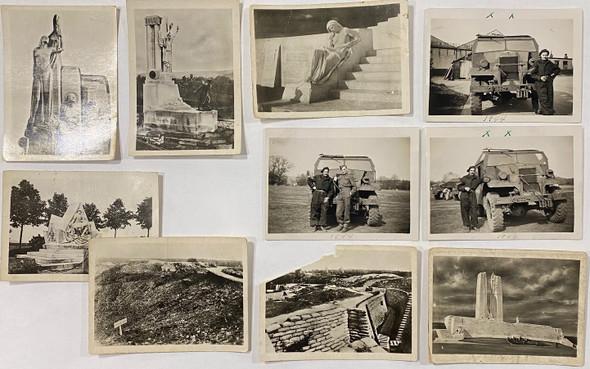 35 WWII Photos Vimy / Vehicles Etc.