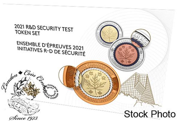 Canada: 2021 R&D Security Test Token Set
