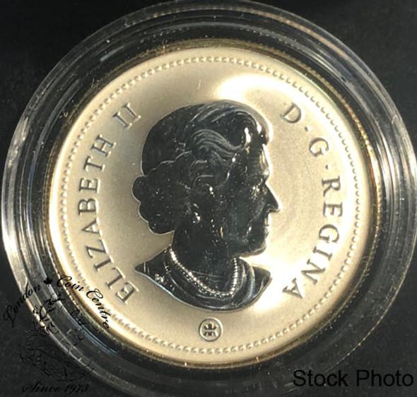 Canada: 2009 $1 Montreal Canadiens Centennial Special Edition Proof Silver Dollar