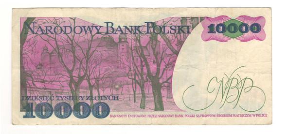 Poland: 1988 10000 Zlotych Banknote