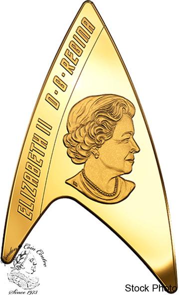 Canada: 2016 $200 Star Trek: Delta Pure Gold Coin
