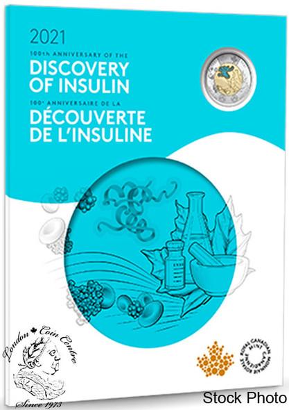 Canada: 2021 Discovery of Insulin Commemorative Collector Keepsake Coin Set