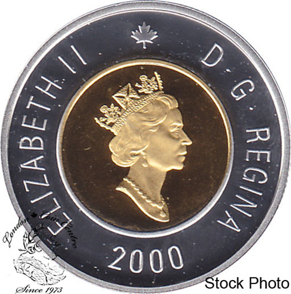 Canada: 2000 $2 Proof