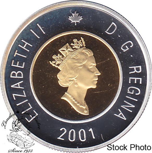 Canada: 2001 $2 Proof