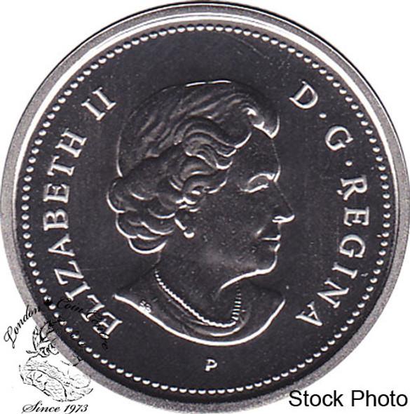 Canada: 2006 25 Cent Specimen