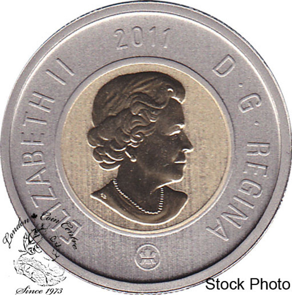 Canada: 2011 $2 Specimen