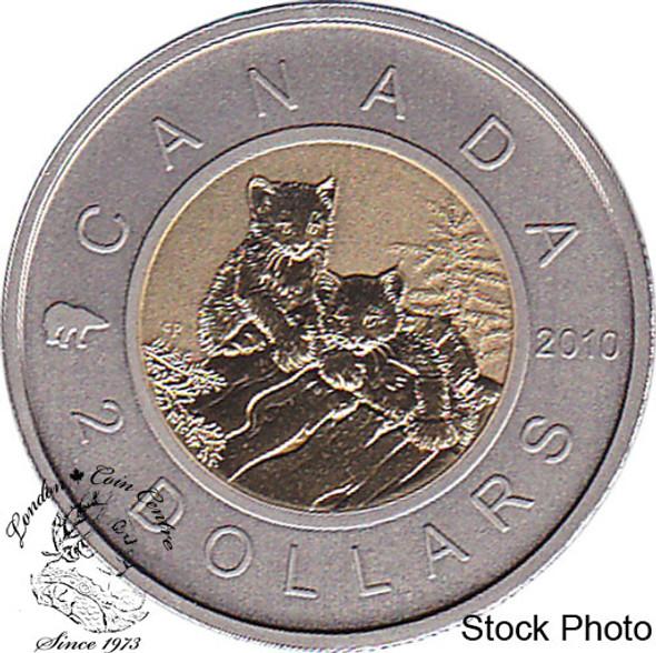 Canada: 2010 $2 Lynx Specimen
