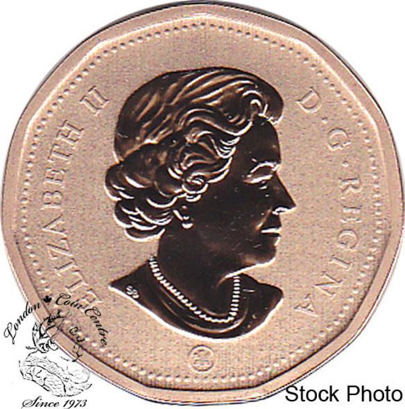 Canada: 2010 $1 Loonie Specimen