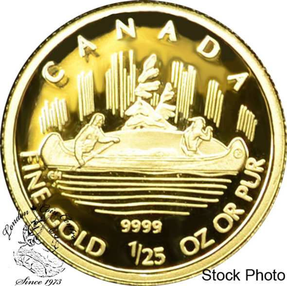 Canada: 2005 50 Cent Voyageur 1/25 oz Gold Coin