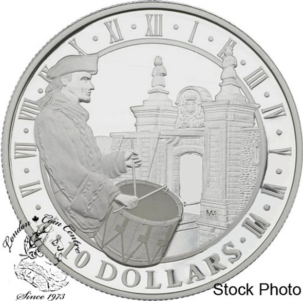 Canada: 2006 $10 Fortress of Louisbourg Silver Coin