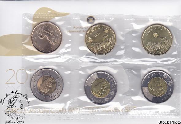 Canada: 2011- 2012 Circulation Coin & Test Token Coin Set