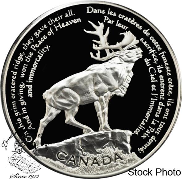 Canada: 2006 $30 Beaumont-Hamel Newfoundland Memorial Pure Silver Coin