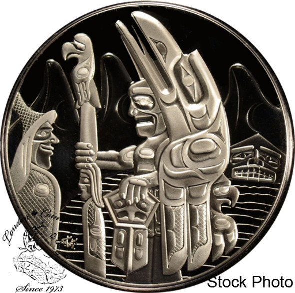 Canada: 2005 $30 Totem Pole Silver Coin
