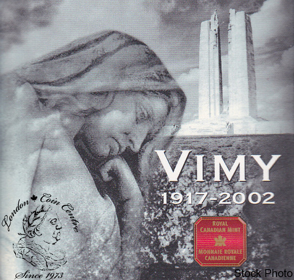 Canada: 2002 5 Cents Vimy Ridge Proof Silver Coin