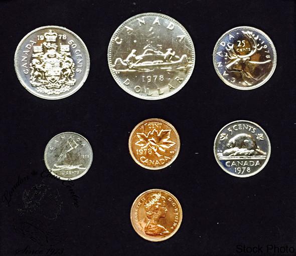 Canada: 1978 Round Jewel Specimen Double Penny Set