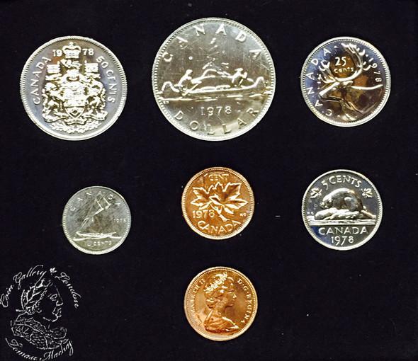 Canada: 1979 Specimen Double Penny Set
