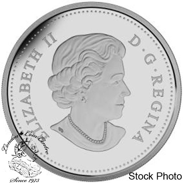 Canada: 2015 $1 The 50th Anniversary of the Canadian Flag Proof Silver Dollar Coin