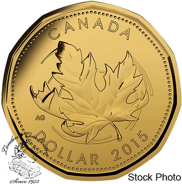 Canada: 2015 $1 Maple Leaf Loonie