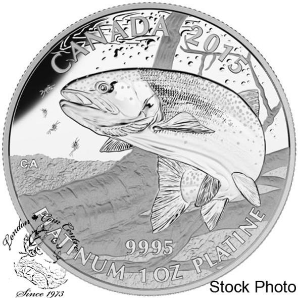 Canada: 2015 $300 North American Sportfish: Rainbow Trout Platinum Coin