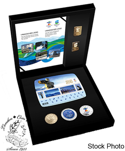 Canada: 2010 Gold Vancouver Olympic Coin Set