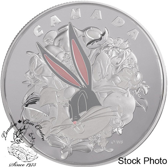 Canada: 2015 $250 Fine Silver Coin Looney Tunes™: Ensemble Cast