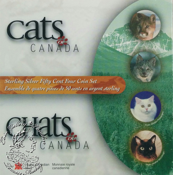 Canada: 1999 50 Cent Cats of Canada Coin Set