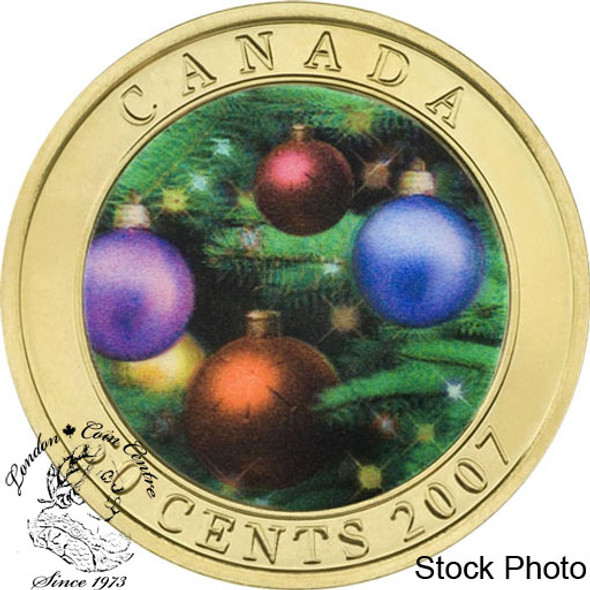 Canada: 2007 50 Cent Holiday Ornaments Coin