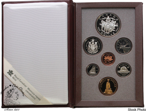 Canada: 1994 Dogsled Team Special Edition Double Dollar Set