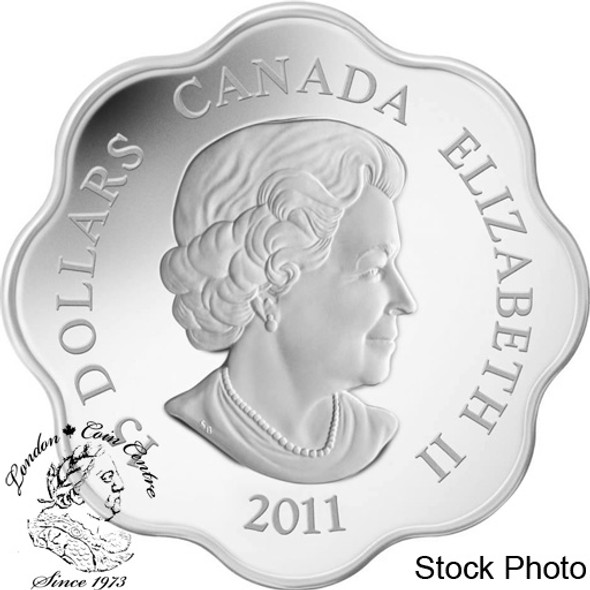 Canada: 2011 $15 Lunar Lotus Year of the Rabbit Silver Coin