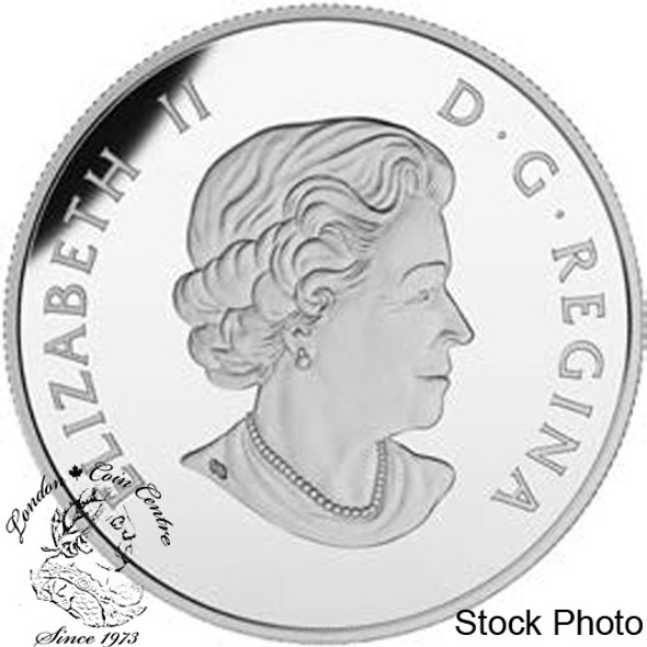 Canada: 2015 5 Cent Legacy of the Canadian Nickel: The Beaver Silver Coin