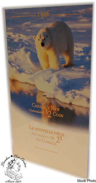 Canada: 1996 $2 Uncirculated Toonie Coin Folder