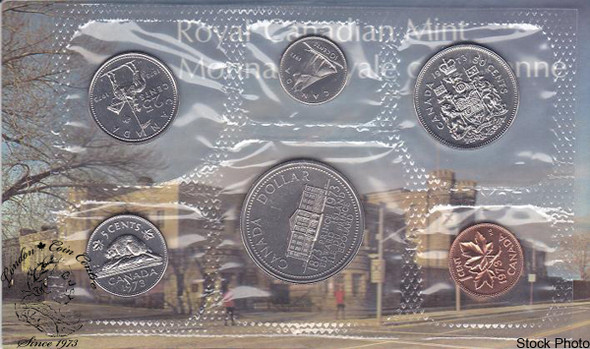 Canada: 1973 Proof Like / Uncirculated Coin Set Small Bust Variety