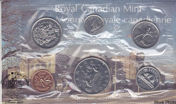 Canada: 1976 Proof Like / Uncirculated Coin Set