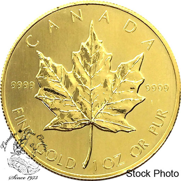 Canada: $50 Pure Gold Maple .9999 1 oz (Random Year)