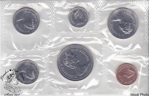 Canada: 1980 Proof Like / Uncirculated Coin Set