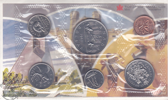Canada: 1982 Proof Like / Uncirculated Coin Set