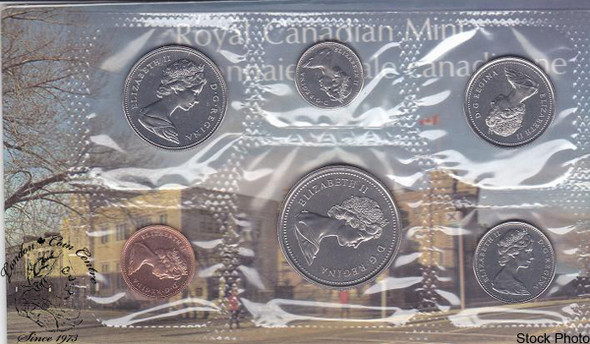 Canada: 1973 Proof Like / Uncirculated Coin Set Large Bust Variety
