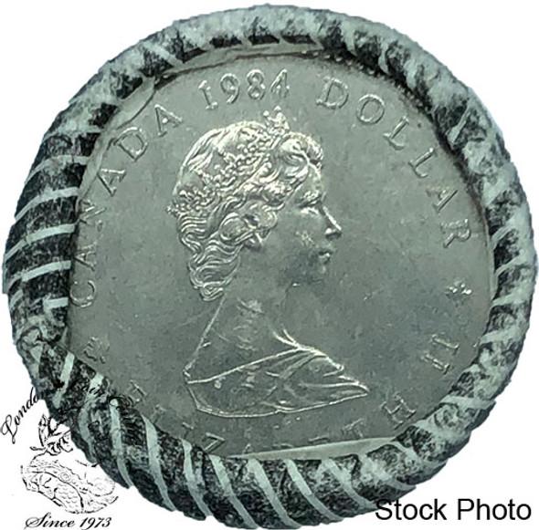 Canada: 1984 Jacques Cartier Dollar Original Roll (20 Coins)