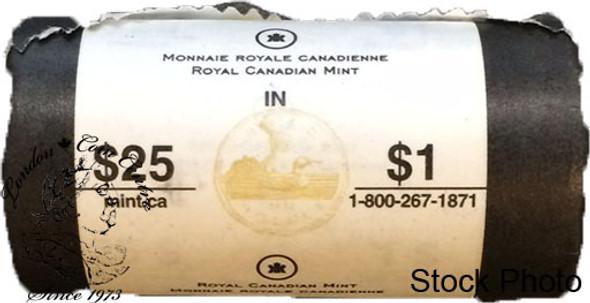 Canada: 2006 Lucky Loon Dollar Original Roll (25 Coins)