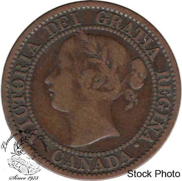 Canada: 1859/8 1 Cent W9 Medal F12