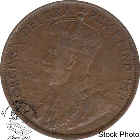 Canada: 1912 1 Cent EF40