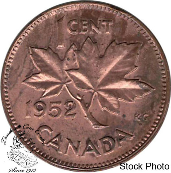 Canada: 1952 1 Cent CIRCULATED