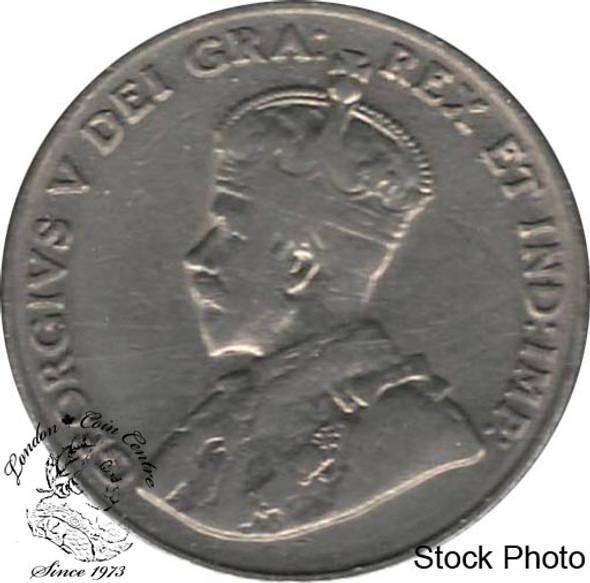 Canada: 1930 5 Cent VF20