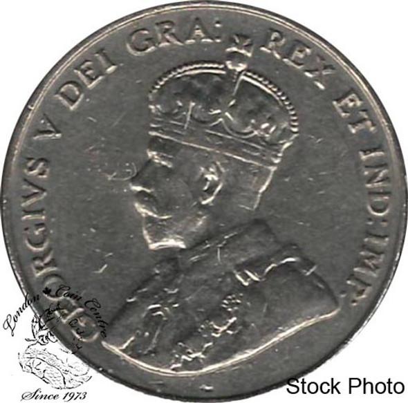 Canada: 1931 5 Cent EF40
