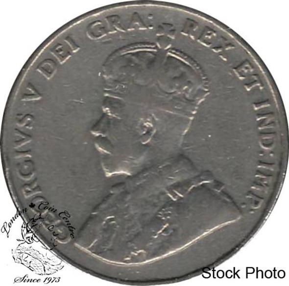 Canada: 1932 5 Cent Near Rim F12