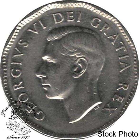 Canada: 1950 5 Cent EF40