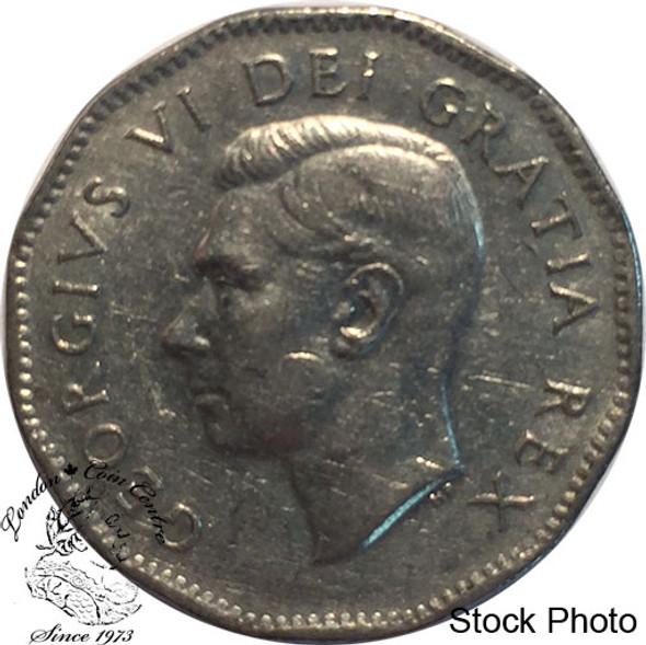 Canada: 1951 5 Cent Com. CIRCULATED