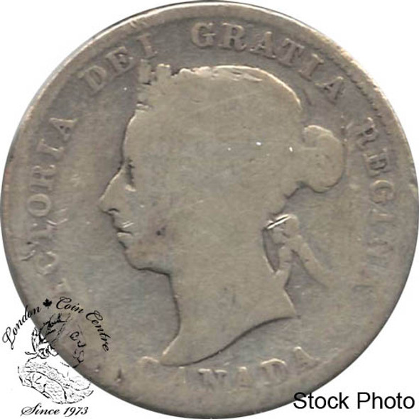 Canada: 1900 25 Cents VG8